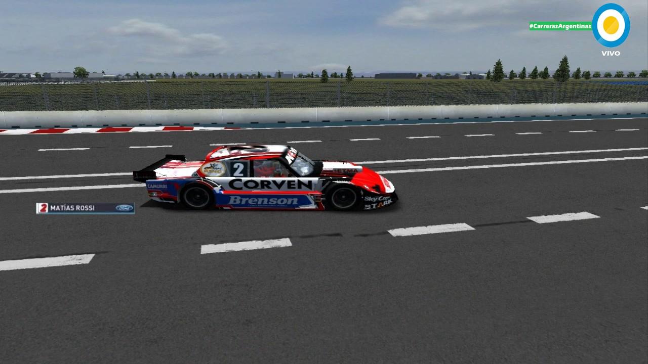 Circuito La Pedrera : On board simulador matias rossi en el circuito la pedrera villa