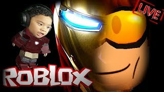 Roblox LiveStream : Iron Man Simulator