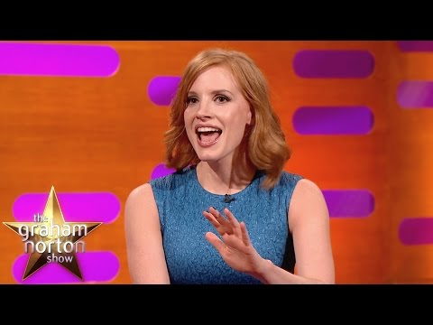 Jessica Chastain Shocked By Penis Problems  The Graham Norton