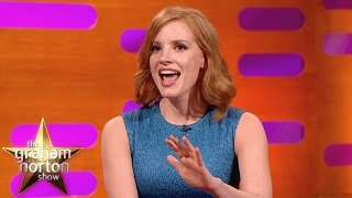 Jessica Chastain Shocked By Penis Problems - The Graham Norton Show