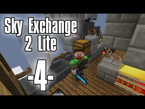 Dansk Minecraft - Sky Exchange 2 Lite #4 - Mobdrop sorterings system (HD)