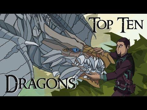 Top Ten Video Game Dragons (Patreon Reward)