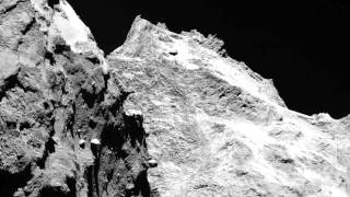 """Rosetta Update: Dirty Snowball Is """"dry Like Hell"""" 