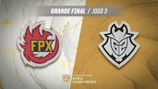 Mundial 2019: Grande Final | FunPlus Phoenix x G2 Esports (Jogo 3)