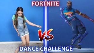 Fortnite Dance Challenge Dans la vraie vie Les enfants Sassy