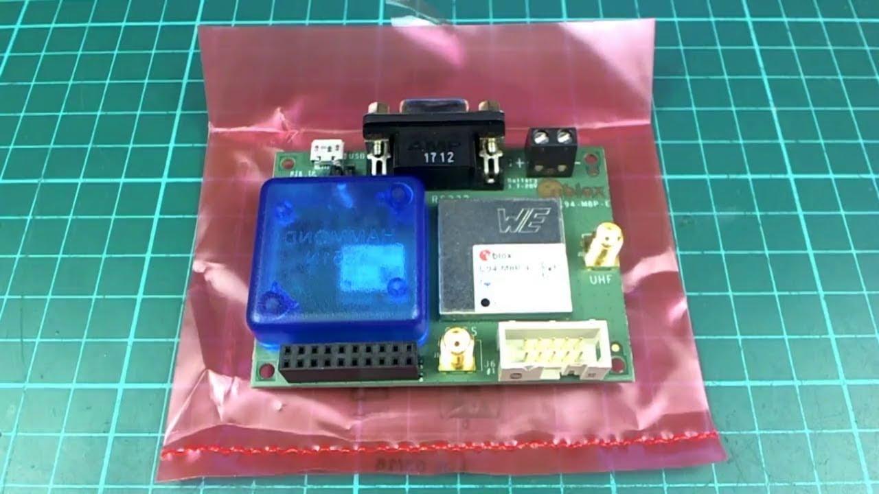 Neo-M8P RTK setup and demo (courtesy u-blox)