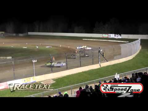Oshkosh Speedzone Raceway - 4-25-14 - Grand National Feature