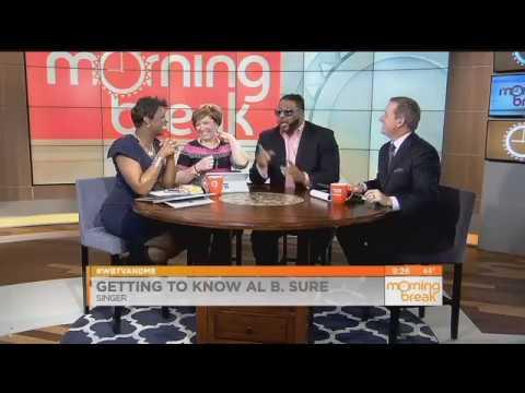 Al B  Sure! Visits Morning Break WBTV Charlotte