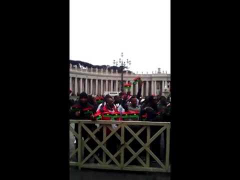 Biafra live in Vatican city 2