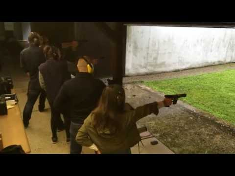 Training Sportpistole Duell (sport pistol, rapid fire stage series) - KKS Grenzach, Germany
