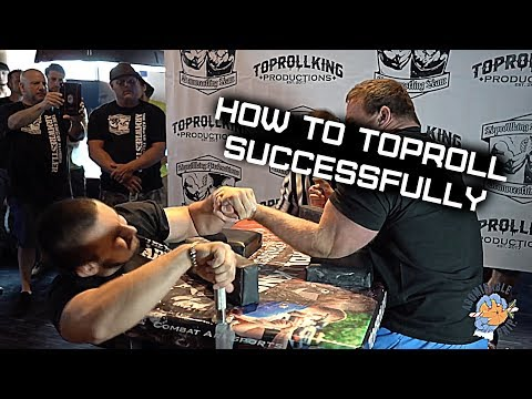 Armwrestling Technique, How To Toproll With Artem