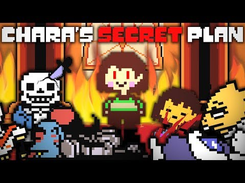The Real Reason Why Chara Wants Everyone DEAD! Undertale Theory | UNDERLAB