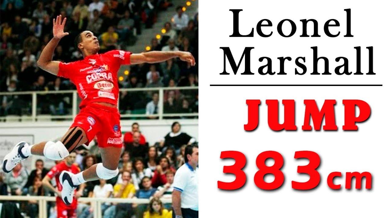 Leonel Marshall   Incredible jump: 383cm   HD  