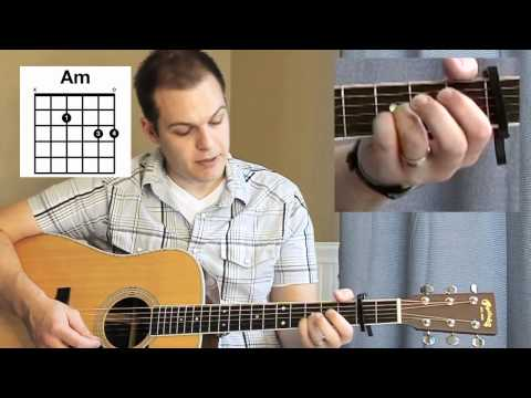 Our God Tutorial (Chris Tomlin, Matt Redman) - with Chord Chart
