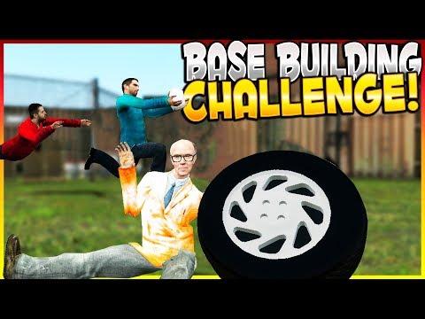 BASE BUILDING & FFA BASE BATTLE   Garry's Mod Gameplay - Gmod Sandbox Base Survival Challenge
