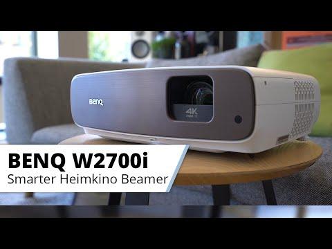 Vorstellung BenQ W2700i Smarter 4K Beamer mit Android TV fürs Heimkino