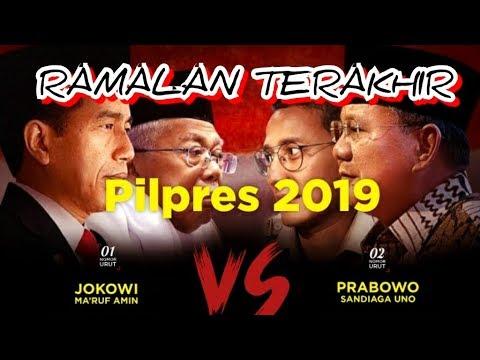 RAMALAN TERAKHIR PEMENANG  PILPRES 2019