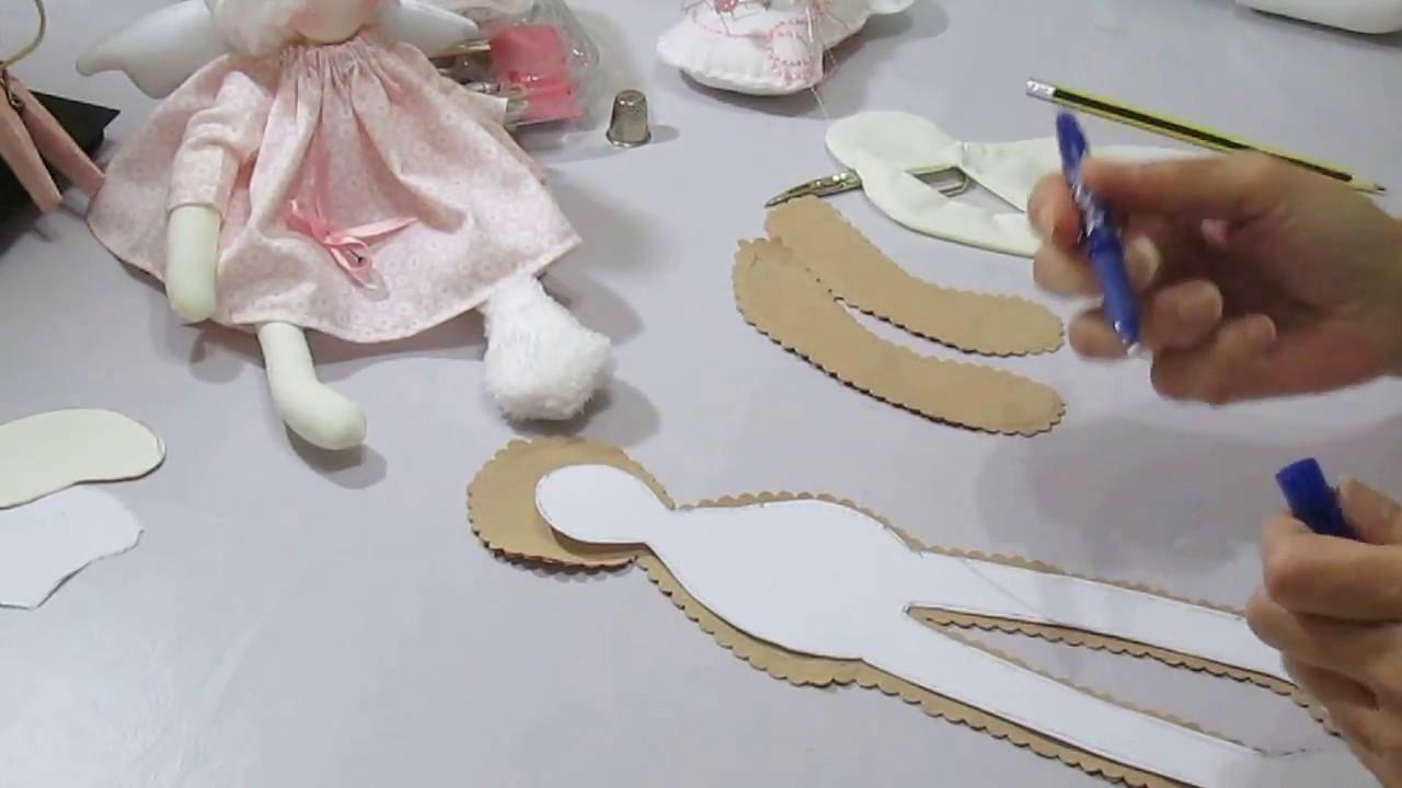 marcamos los patrones, cosemos y rellenamos. Nuevo tutorial 1ª parte ...