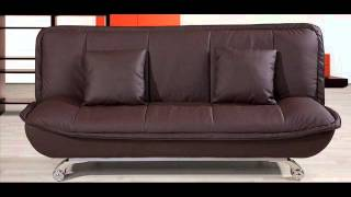 Premier Leather Sofa Bed in Bonded Leather