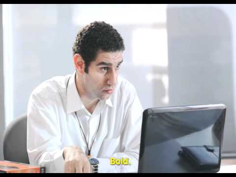 VERY FUNNY MOBINIL AD. GO BUSINESS. اعلان موبينيل