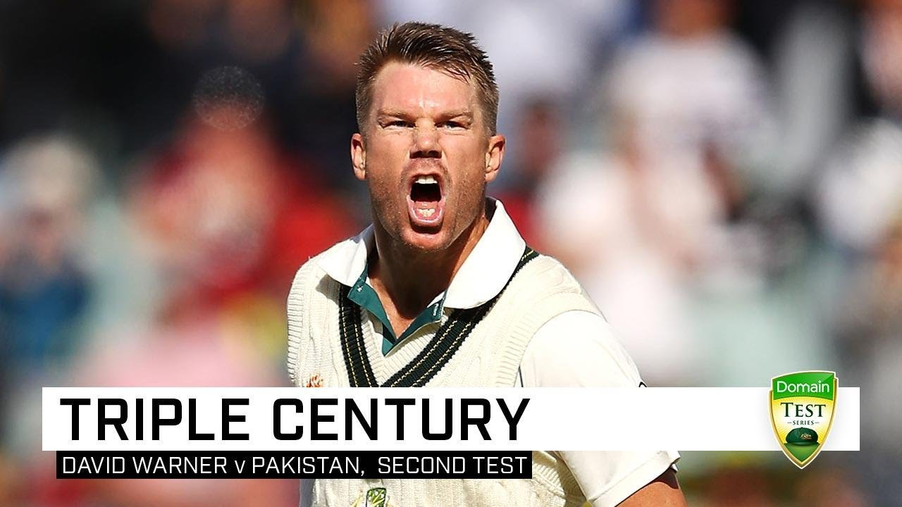Download Full highlights: Warner's epic 335 not out