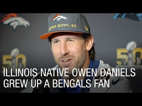 Illinois Native Owen Daniels Grew Up a Bengals Fan
