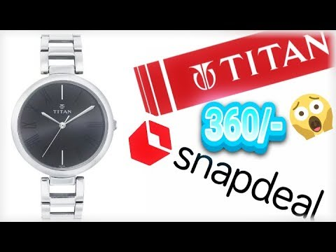 Titan Watch Snapdeal || Review || Just For 360/-😱