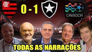 Todas as narrações - Flamengo 0x1 Botafogo / Semi Final do Campeonato Carioca 2018