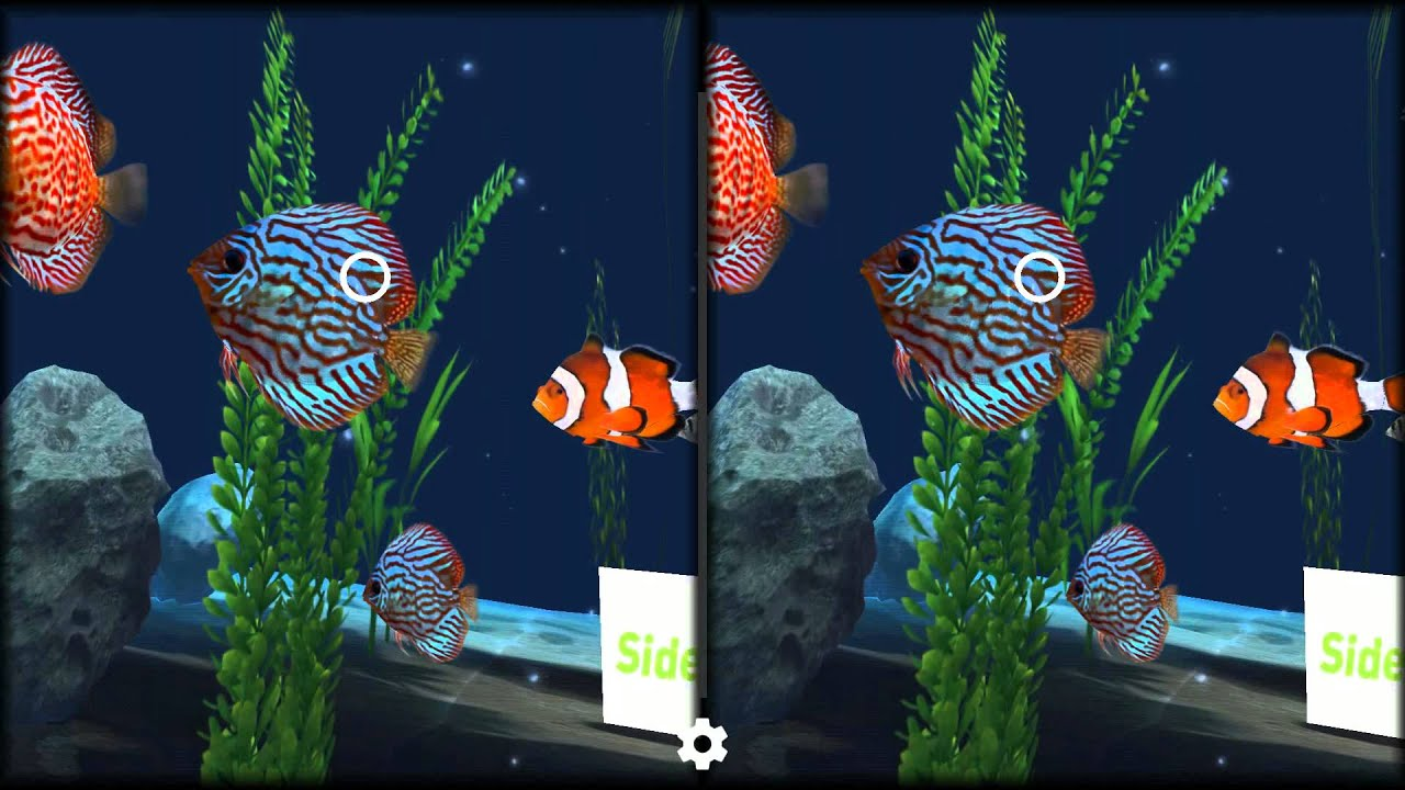 Virtual fish tank aquarium google - Aquarium Vr Best Google Cardboard Vr 3d Sbs Apps Gameplay Virtual Reality Video