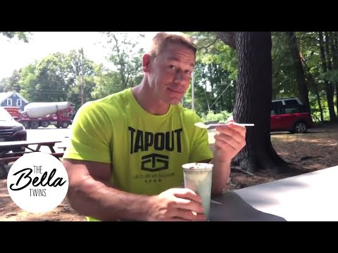 John Cena enjoys sprinkles on his ice cream🍨🍦(and it's cuter than every puppy video combined!)