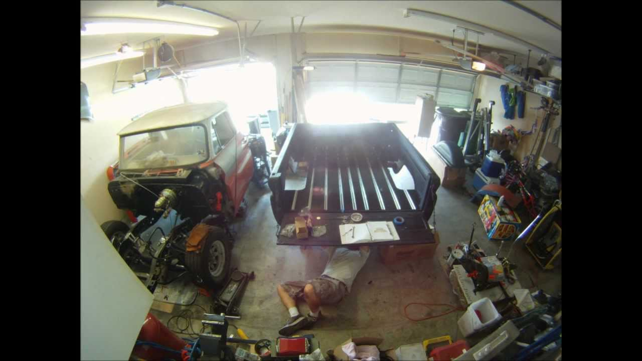 Truck 57 chevy truck bed wood : Wood bed assembly time lapse - 1964 Chevrolet C-10 - YouTube