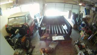 Wood Bed Assembly Time Lapse - 1964 Chevrolet C-10