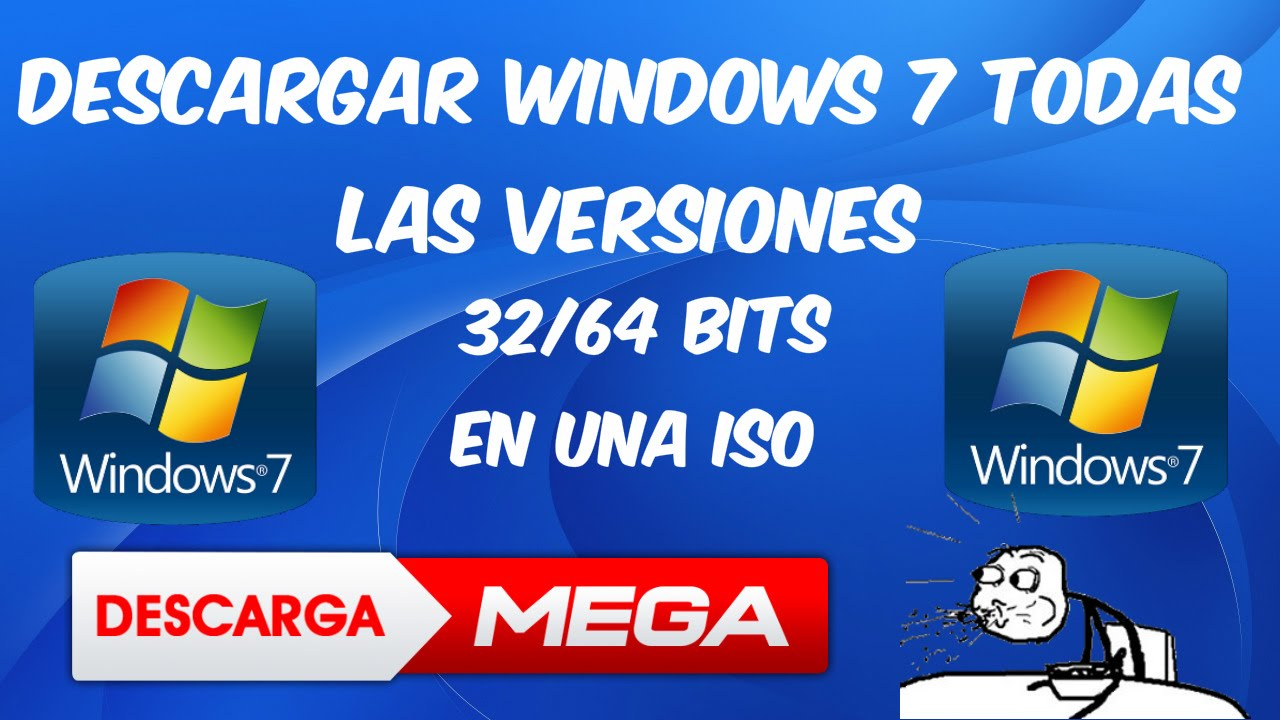descargar windows 7 ultimate 64 bits iso sin mega