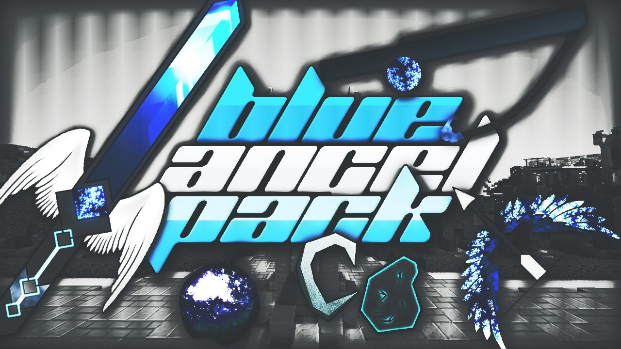 BLUE ANGEL PVP PACK - Amazing Minecraft PvP Texture Pack ...