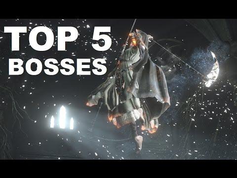 Dark Souls III - Top 5 Bosses (AFTER DLC)