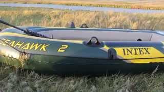 Seahawk 2 Intex обзор лодки ПВХ