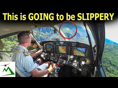 Landing a Kodiak Airplane on a Slippery Mountain Runway | Bush Pilot Flight Vlog