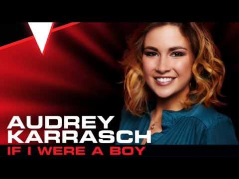 Audrey Karrasch-If I Were A Boy (Solo Version)