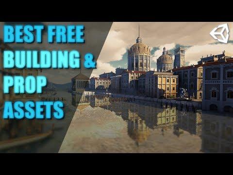 Best Free Building & Prop Assets   Unity Asset Store 2019