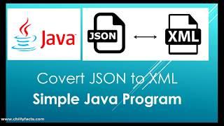 Java - Convert JSON to XML