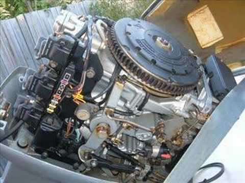 75 Hp Johnson Ignition Wiring 70 Hp Evinrude 2 Stroke Vro Youtube