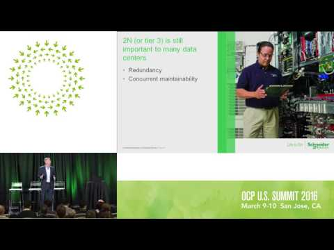 Kevin Brown - Schneider Electric:  Hacking the Conventional Data Center Power Infrastructure