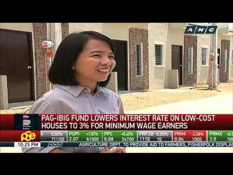 Pag-IBIG Fund lowers interest rate on low-cost housing for minimum wage earners