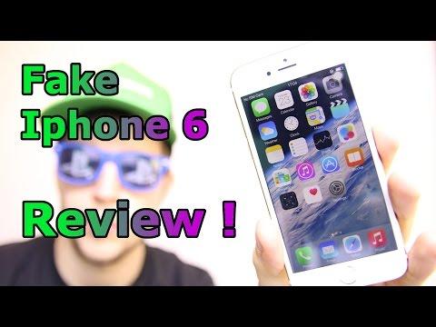 Fake Iphone 6 - 1:1 Clone Metal Version - Full Review [HD]