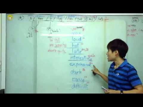 พูดประโยคภาษาอังกฤษให้ยาวขึ้น