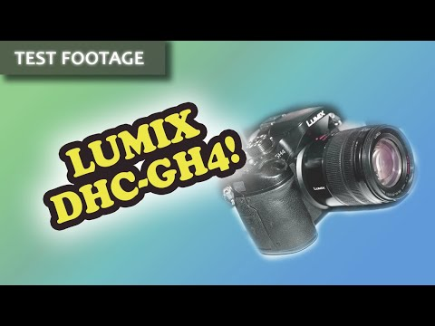 More Panasonic Lumix DMC-GH4 4k Test Footage