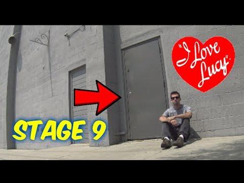 "Visiting ""I Love Lucy""- Stage 9 (Seasons 3-6)--Desilu Cahuenga!!-- Filming Studio"