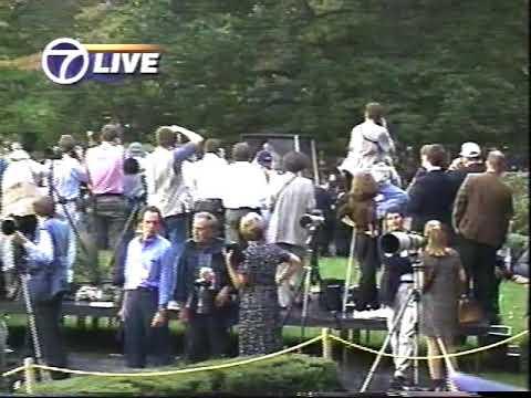 Pope John Paul II Evening Prayer at St. Joseph's Seminary, Yonkers, NY 1995