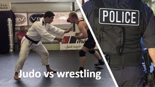 Advice on training for police officers, Judo vs Wrestling