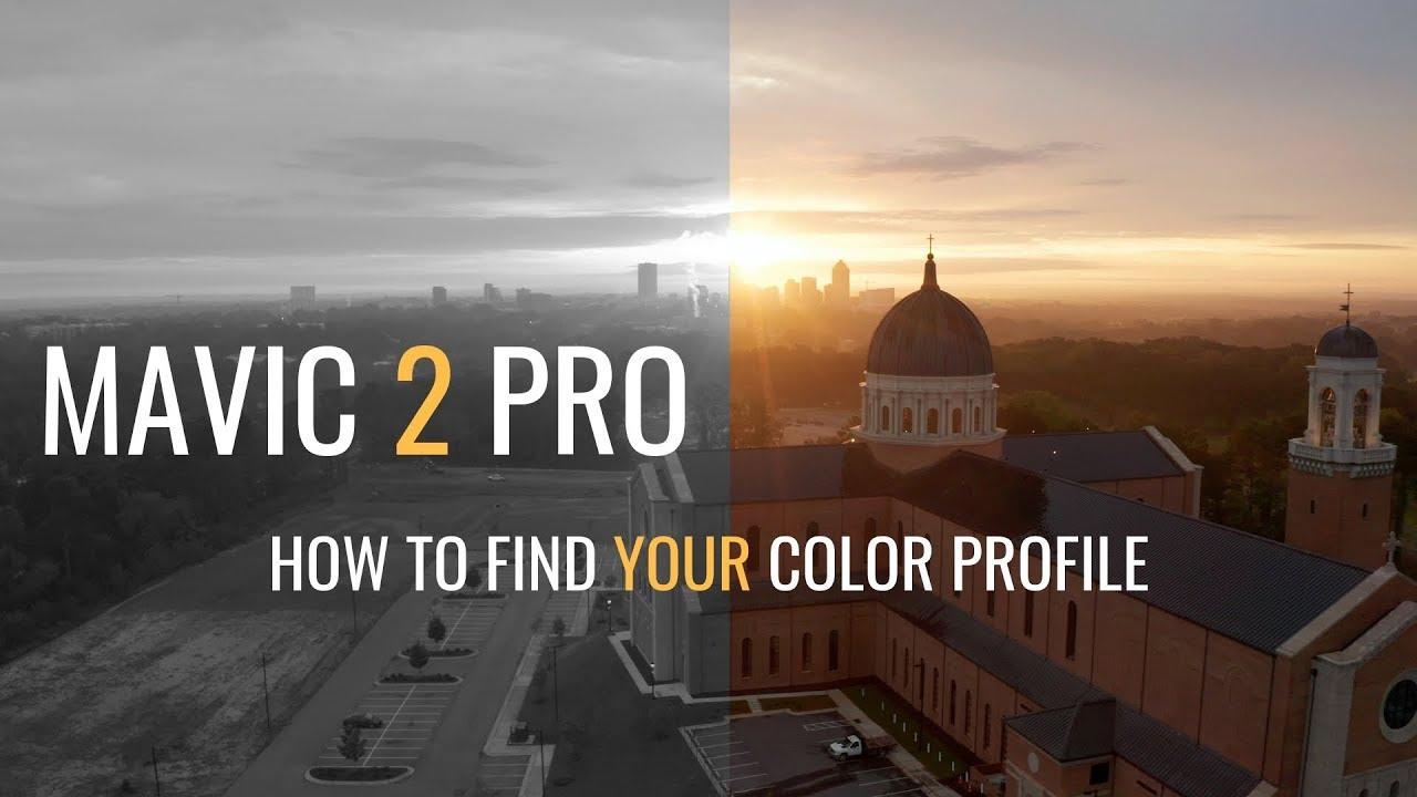 DJI Mavic 2 Pro | Color Profile | Best Camera Settings
